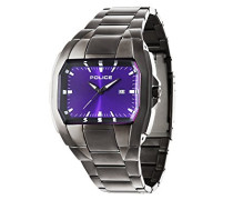 Police Glendale Herren-Armbanduhr Analog Quarz Edelstahl beschichtet - PL.94181AEU/15M