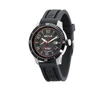 Sector Herren-Armbanduhr 850 Analog Quarz Kautschuk R3251575004
