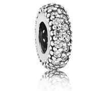 Damen-Bead-Zwischenelement 925 Silber Zirkonia weiß - 791359CZ