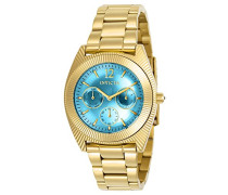 Damen-Armbanduhr Analog Quarz Edelstahl Beschichtet-23753