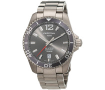 Certina Herren-Armbanduhr XL Analog Quarz Titan C013.410.44.087.00