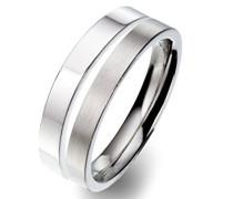 Unisex -Ehe, Verlobungs & Partnerringe Ringgröße 63 (20.1) - OR51677/63