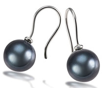 Goldmaid Damen-Ohrhänger 585 Weißgold Tahiti Perlen