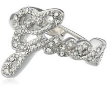 Guess Damen-Ring 925 Silber rhodiniert Zirkonia weiß Gr. 54 (17.2) UBR21201-54
