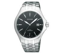 Uhren Herren-Armbanduhr Klassik Analog Quarz Edelstahl PS9089X1