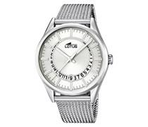 Herren-Armbanduhr Analog Quarz Edelstahl 15975/1