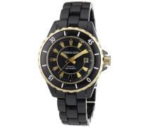Damen-Armbanduhr XS OCEAMICA CE 4BG4 Analog Quarz Keramik 332700