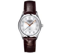 Certina Herren-Armbanduhr XL Analog Quarz Leder C022.410.16.030.01
