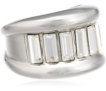Damen-Ring Edelstahl Kristall Swarovski 336216