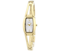 Damen-Armbanduhr Analog Quarz Edelstahl beschichtet 12210886