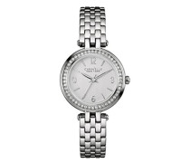 Caravelle New York Damen-Armbanduhr MINI T-BAR Analog Quarz Edelstahl 43L185