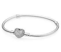 Damen-Armband 925 Silber Zirkonia weiß 20 cm-590727CZ-20