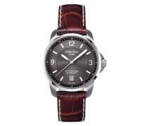 Certina Herren-Armbanduhr XL Analog Automatik Leder C001.407.16.087.00