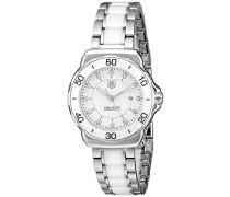TAG Heuer Damen-Armbanduhr Analog Quarz Edelstahl WAH1315.BA0868