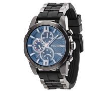 Herren-Armbanduhr Matchcord Analog Handaufzug 14541JSB/02PA