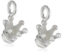 Heartbreaker Damen- Ohring Einhänger für Creolen 925 Silber Krone LD MR 43