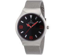 ToyWatch Unisex-Armbanduhr Analog Edelstahl MH02SL