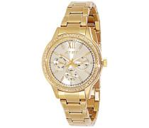Damen-Armbanduhr Swag Analog Quarz Edelstahl J16218-722