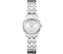 Hamilton Jazzmaster Women'Armbanduhr Analog Edelstahl silber H32261115
