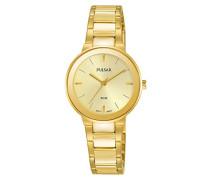 Damen-Armbanduhr Analog Quarz Edelstahl beschichtet PH8288X1