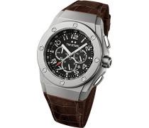 Unisex-Armbanduhr CEO Tech Chronograph Quarz Leder CE4014