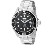 Herrenuhr Chronograph Automatisch mit Edelstahlarmband –  watch 3044