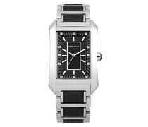 Karen Millen Damen-Armbanduhr Analog Quarz Edelstahl KM119BM