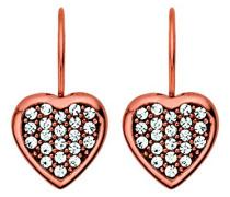Dyrberg/Kern Damen-Ohrhänger Vergoldetes Metall Kristall 335435