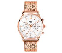 Unisex-Armbanduhr Richmond Chronograph Quarz Edelstahl HL41-CM-0040