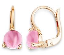 Damen-Ohrringe 9 Karat (375) Rosegold Rosa Quartz MNA9011E