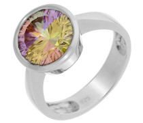 Damen-Ring Rainbow Collection 925 Sterlingsilber Multicolor Zirkonia