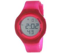 Puma Unisex-Armbanduhr Loop transparent Digital Quarz Plastik PU910801025