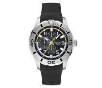 Herren-Armbanduhr XL Analog Quarz Silikon A13673G