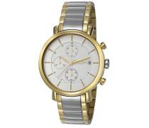 ! Damen-Armbanduhr Emma Chronograph Quarz Edelstahl JP101772005