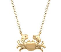 Halskette Krebs Krabbe Beach Strand 925 Silber vergoldet 0112880716