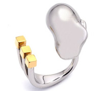 Damen-Ring Messing - Größe 49 (15.6)