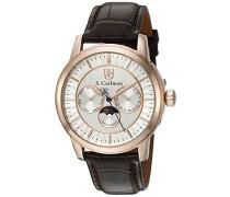 Herren- Armbanduhr Analog Quarz SC02 14