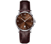 Certina Herren-Armbanduhr XL Analog Quarz Leder C017.410.16.297.00