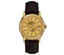 Herren-Armbanduhr WALLSTREET Analog Automatik Leder 20002.2511