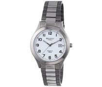 Regent Herren-Armbanduhr XL Analog Quarz Titan 11090320