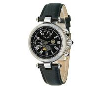Damen-Armbanduhr XS Mirage Analog Automatik Leder CD-MIRL-AT-LT-STST-BK