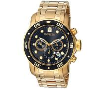 Invicta Herren-Armbanduhr Quarz Chronograph 0072