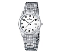 Festina Herren-Armbanduhr XL Analog Quarz Edelstahl F8825/4