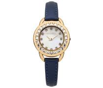 Damen-Armbanduhr Analog Quarz Leder M1205U