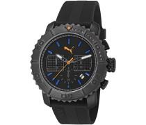 Puma Unisex-Armbanduhr Gallant Chronograph Quarz PU103561003