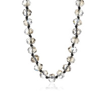 Damen-Halskette Party Hematite Grau 100 Cm 675-901