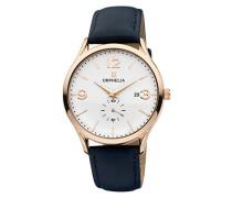 Herren-Armbanduhr Tiempo Analog Quarz Leder