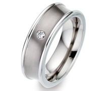 -Ehe, Verlobungs & Partnerringe Diamant Ringgröße 54 (17.2) - ORB52265/54