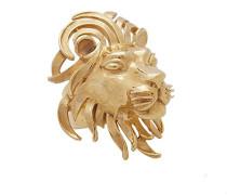 24ct Elsa Yellow Gold Ring Lion