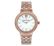 Damen-Armbanduhr Analog Quarz Edelstahl DHD 007-2BM